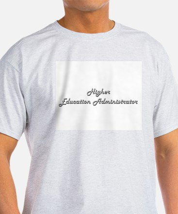 Higher Education Administrator Classic Job T-Shirt