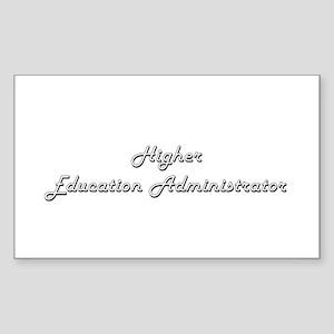 Higher Education Administrator Classic Job Sticker