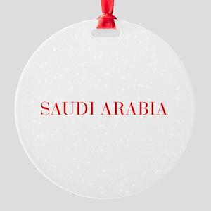 Saudi Arabia-Bau red 400 Ornament