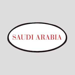 Saudi Arabia-Bau red 400 Patch