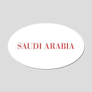 Saudi Arabia-Bau red 400 Wall Decal