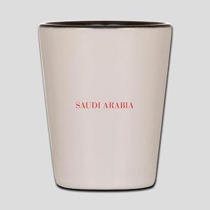 Saudi Arabia-Bau red 400 Shot Glass