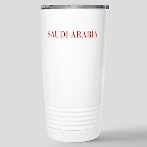 Saudi Arabia-Bau red 400 Travel Mug