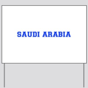 Saudi Arabia-Var blue 400 Yard Sign