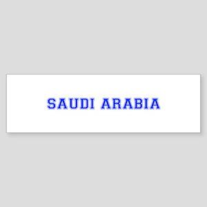 Saudi Arabia-Var blue 400 Bumper Sticker