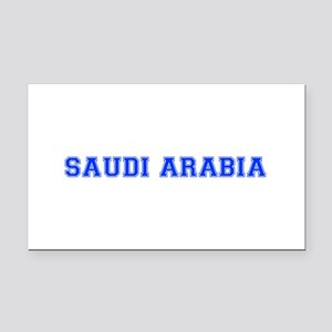 Saudi Arabia-Var blue 400 Rectangle Car Magnet