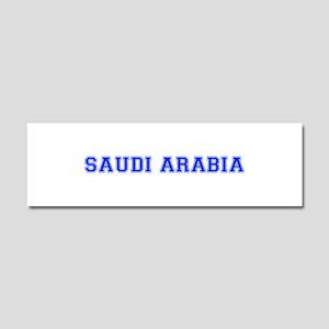 Saudi Arabia-Var blue 400 Car Magnet 10 x 3