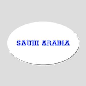 Saudi Arabia-Var blue 400 Wall Decal