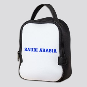 Saudi Arabia-Var blue 400 Neoprene Lunch Bag