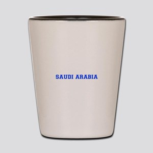 Saudi Arabia-Var blue 400 Shot Glass