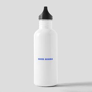 Saudi Arabia-Var blue 400 Water Bottle