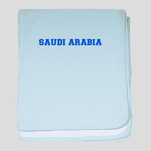 Saudi Arabia-Var blue 400 baby blanket