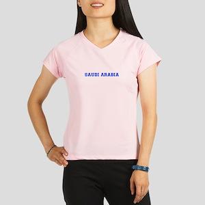 Saudi Arabia-Var blue 400 Performance Dry T-Shirt