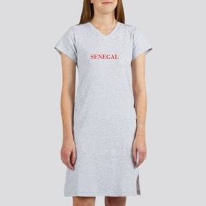 Senegal-Bau red 400 Women's Nightshirt