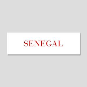 Senegal-Bau red 400 Car Magnet 10 x 3
