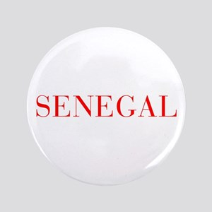 "Senegal-Bau red 400 3.5"" Button"