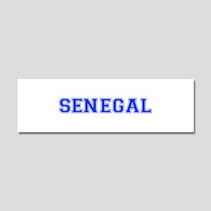 Senegal-Var blue 400 Car Magnet 10 x 3