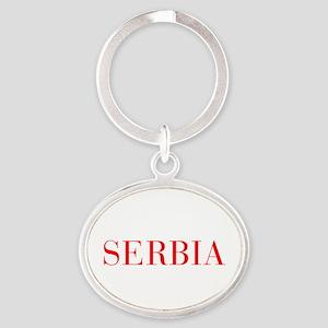 Serbia-Bau red 400 Keychains