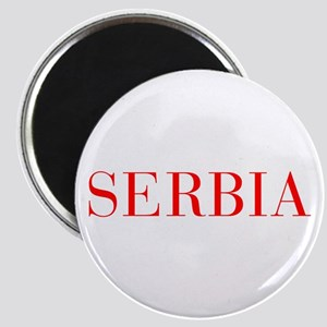 Serbia-Bau red 400 Magnets