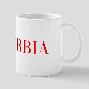 Serbia-Bau red 400 Mugs