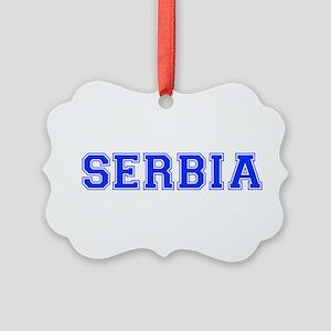 Serbia-Var blue 400 Ornament