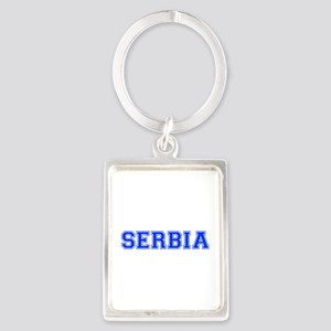 Serbia-Var blue 400 Keychains