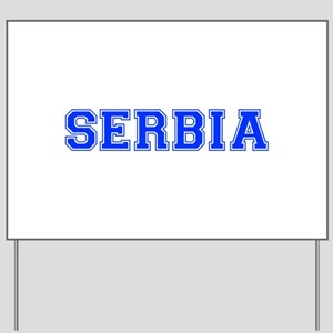 Serbia-Var blue 400 Yard Sign