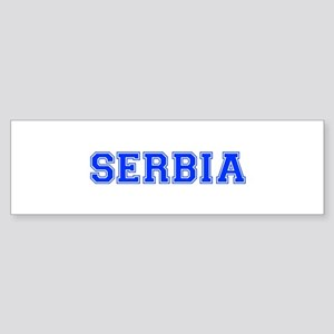 Serbia-Var blue 400 Bumper Sticker