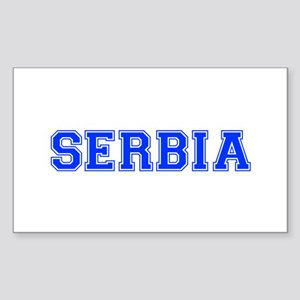 Serbia-Var blue 400 Sticker