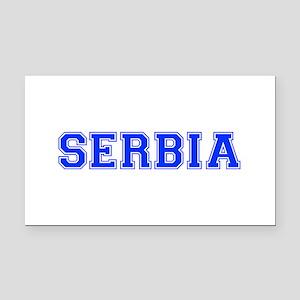 Serbia-Var blue 400 Rectangle Car Magnet