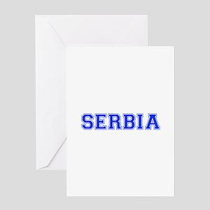 Serbia-Var blue 400 Greeting Cards