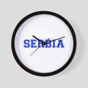 Serbia-Var blue 400 Wall Clock