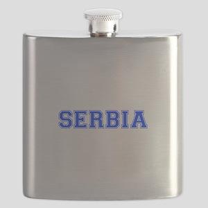 Serbia-Var blue 400 Flask