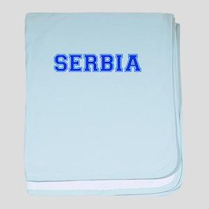 Serbia-Var blue 400 baby blanket
