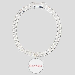 Slovakia-Bau red 400 Bracelet