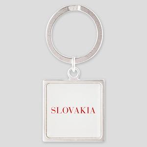 Slovakia-Bau red 400 Keychains