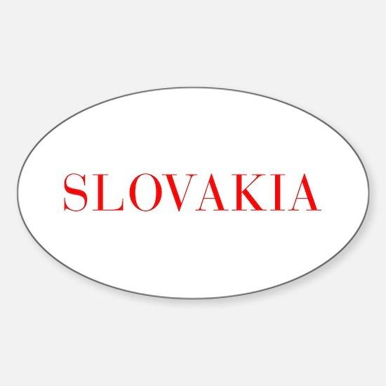 Slovakia-Bau red 400 Decal