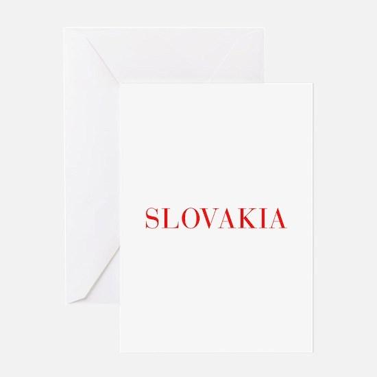 Slovakia-Bau red 400 Greeting Cards