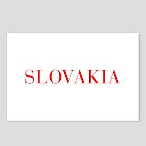 Slovakia-Bau red 400 Postcards (Package of 8)