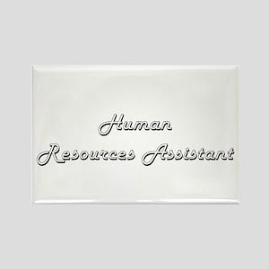 Human Resources Assistant Classic Job Desi Magnets