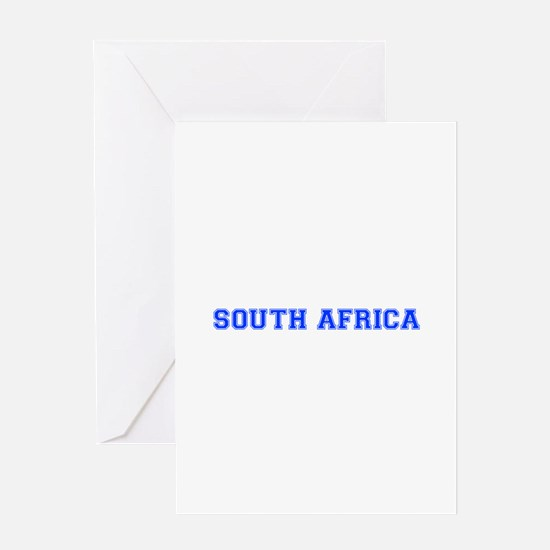 South Africa-Var blue 400 Greeting Cards