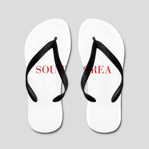 South Korea-Bau red 400 Flip Flops
