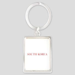 South Korea-Bau red 400 Keychains