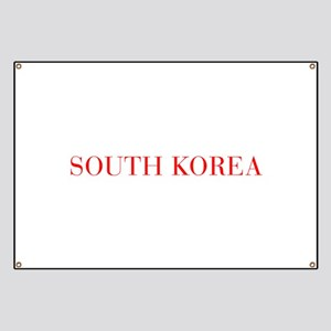 South Korea-Bau red 400 Banner