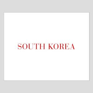 South Korea-Bau red 400 Posters