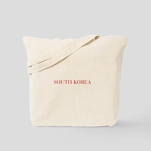 South Korea-Bau red 400 Tote Bag