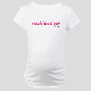 Valentine's Day Baby Maternity T-Shirt