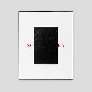 South Korea-Bau red 400 Picture Frame