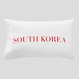 South Korea-Bau red 400 Pillow Case