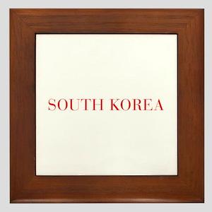 South Korea-Bau red 400 Framed Tile